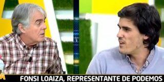 """Siro López no tiene piedad de Fonsi Loaiza, el representante del círculo de Podemos Deporte: """"Eres el 'pequeño Nicolás' del periodismo"""""""