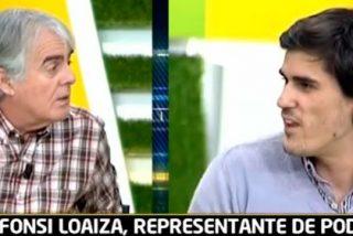 Siro López no tiene piedad de Fonsi Loaiza, el representante del círculo de Podemos Deporte: