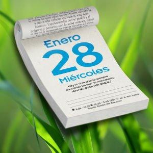 Mensajero presenta su nuevo ecocalendario 2015