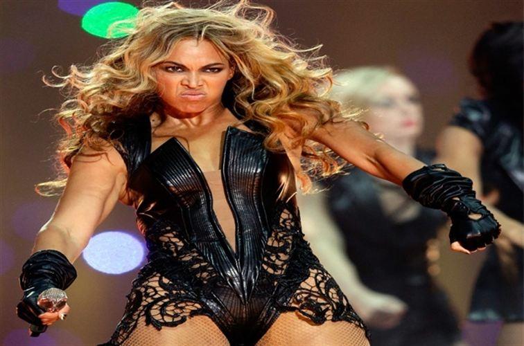 Beyoncé es 'poseída' en medio de un partido de la NBA