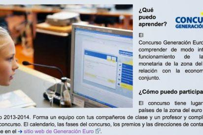 2.490 alumnos españoles participan en el concurso 'Generación Euro'