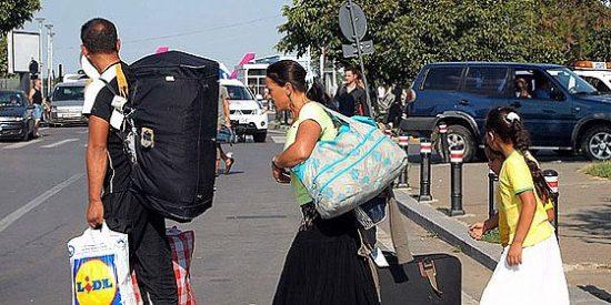 La Fiscalía investiga el éxodo de decenas de familias gitanas