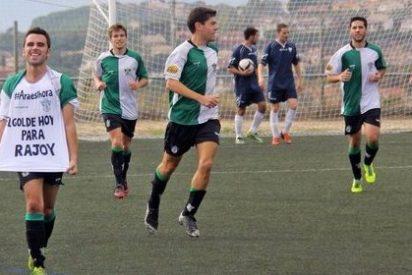 ¡Un jugador catalán de LAOTRALIGA le dedica un gol a Rajoy!