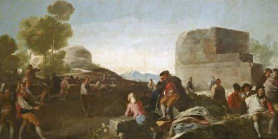 El Museo del Prado expone por primera vez los cartones para tapices de Goya