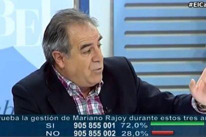 """Graciano Palomo pone a caer de un burro a Podemos: """"Estos no han gestionado ni un estanco"""""""