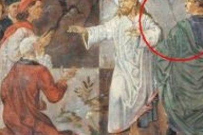 Piden retirar una pintura que retrata a Hitler al lado de Jesús