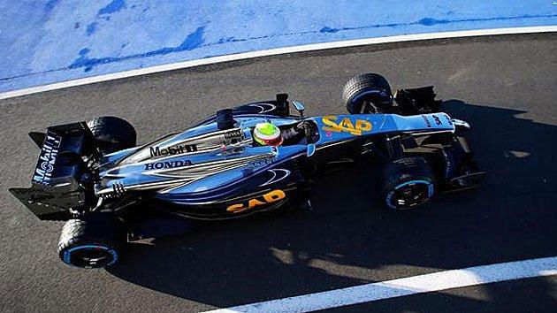 Primeras imágenes del nuevo McLaren de Alonso
