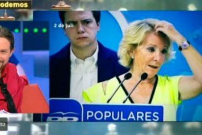 La envolvente que pretendía hacerle Iglesias a Aguirre en 'La Tuerka'
