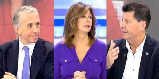 "Alfonso Rojo a Inda: ""Sé serio, ¡si no aguantas la risa! A ti te engañó, te ha abducido"""