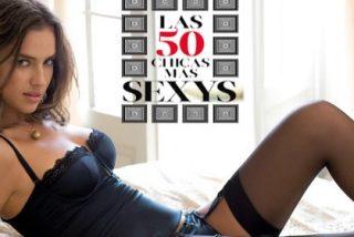 ¡Irina se desnuda para el público español!