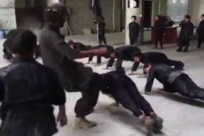 [Vídeo] El brutal entrenamiento del ISIS a los niños: patadas, puñetazos y a palos