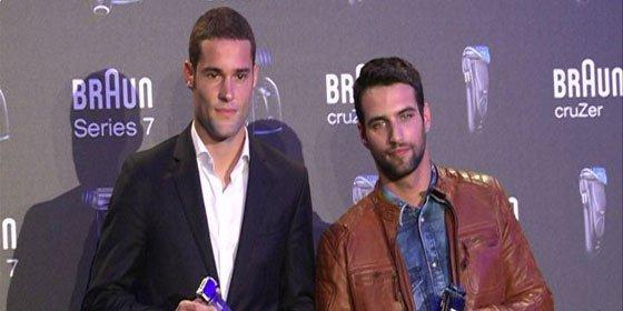 Jesús Castro y Mario Suárez, guapos con y sin barba