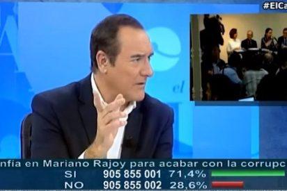 """Antonio Jiménez pone morado a Podemos: """"Iglesias llamó caradura en 2012 a su gurú económico"""""""