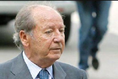El ex presidente del FC Barcelona, Jose Luis Núñez, y su hijo ingresan en prisión