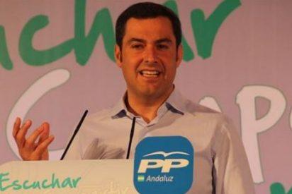 El popular Moreno prefiere un pacto PP-PSOE en la Junta antes que gobierne Podemos