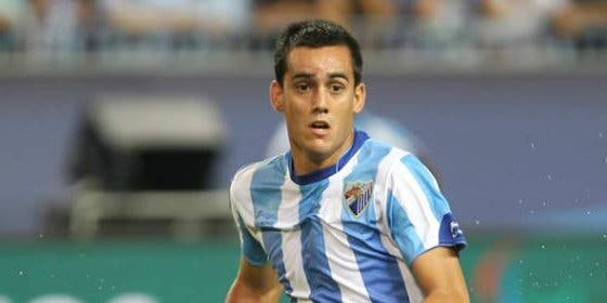 Juanmi se rompe el cúbito y no podrá jugar con el Málaga