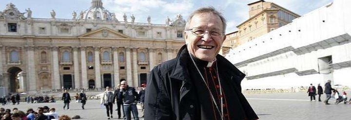 """Cardenal Kasper: """"El Papa es un conservador inteligente"""""""
