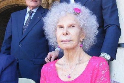 Las reacciones de los famosos ante la muerte de la duquesa de Alba: ¿qué ha opinado Jorge Javier Vázquez?