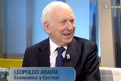"""Leopoldo Abadía: """"Lo que propone Pablito Iglesias suena bien pero es falso"""""""