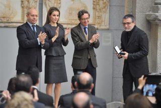 La Reina Letizia, sobriedad y elegancia, en el Premio Velázquez de las artes plasticas 2013