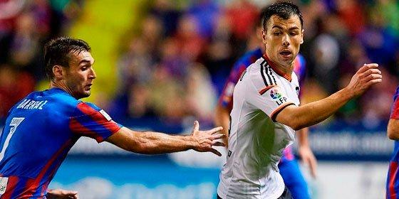 El Levante se lleva el derbi y gana al Valencia por 2-1 en el Ciudad de Valencia