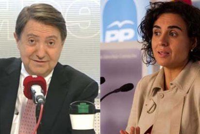 """Losantos se despacha a gusto contra Dolors Montserrat (PP): """"Es la sicaria de Soraya, una lerda y un escombro"""""""