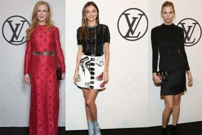 Nicole Kidman, Miranda Kerr y Karlie Kloss se rinden ante Louis Vuitton