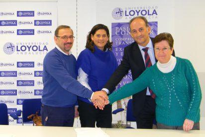 Loyola Andalucía firma un acuerdo con Entreculturas, InteRed y Claver