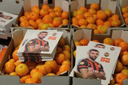 Dona 20 toneladas de mandarinas
