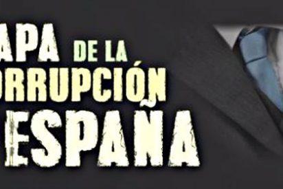 Mapa de la corrupción en España: más de 1.900 imputados en 130 causas