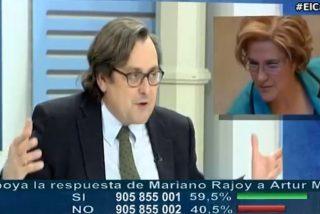 """Marhuenda machaca a Rahola tras su ataque a 13TV: """"Es una hooligan y una faltona"""""""