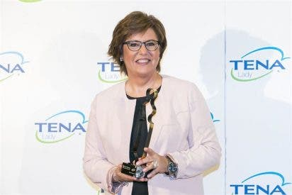 María Escario ganadora del 'II Premio TENA Lady a las Mujeres que Triunfan'