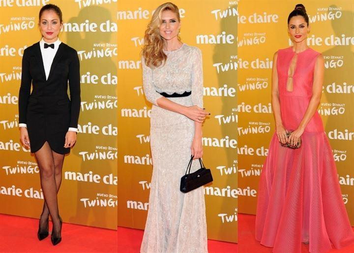 La Plaza de Callao en Madrid se llena de lujo en los premios Marie Claire