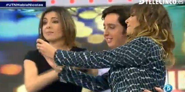 """Brutal desembarco de Mariló Montero en T5: 'selfie' con el 'Pequeño Nicolás', machismo y el """"oscuro"""" Pablo Iglesias"""