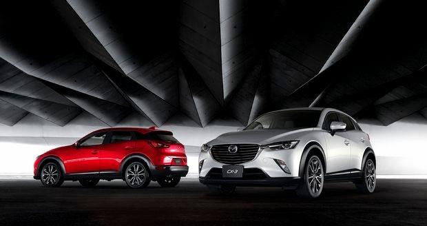 Mazda CX3, nuevo crossover urbano a la batalla