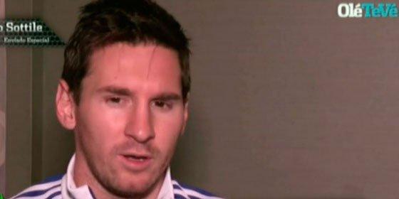 El verdadero motivo por el que Messi no quiere seguir en España