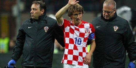El Real Madrid pierde a Luka Modric por lesión: estará entre tres y cinco semanas de baja