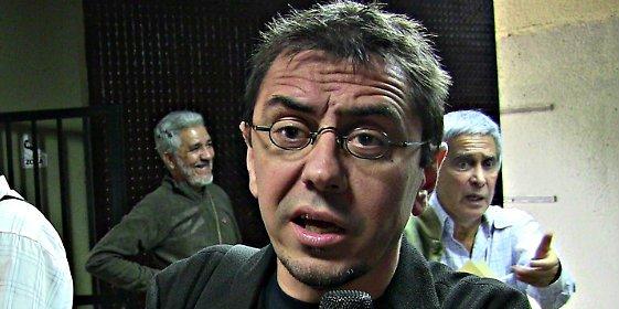 La hemeroteca de Podemos: Lágrimas de Monedero