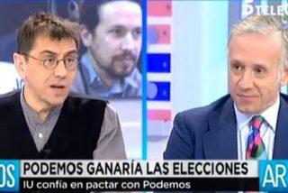 """Inda acorrala a Monedero hasta que consigue que condene a ETA: """"¡Los etarras son unos asesinos!"""""""