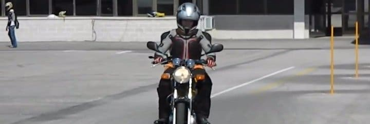 Las motos no están hechas para la gran ciudad