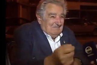 """Así le da una limosna a un mendigo el bonachón de José Mujica: """"¡No llores, carajo!"""""""