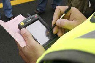 La recaudación por multas de tráfico sufre un STOP: desciende 68 millones en tres años