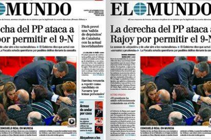 ABC le mete un meneo a El Mundo por censurar las voces críticas con Rajoy
