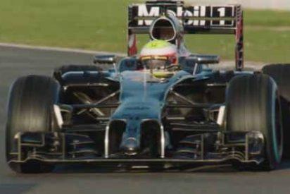 McLaren enseña el nuevo coche de Alonso