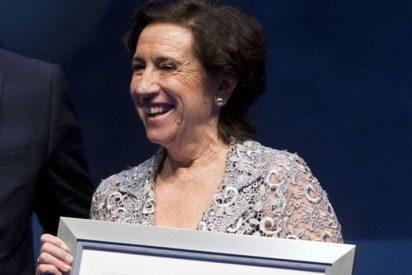 La periodista Victoria Prego, premiada con el 'Ouresanía 2014'