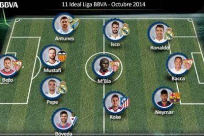 7 futbolistas de LAOTRALIGA en el once ideal de octubre