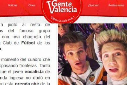 El miembro de One Direction es del Valencia