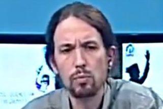 "A Pablo Iglesias le ""emociona"" ver a encapuchados pateando a un policía"
