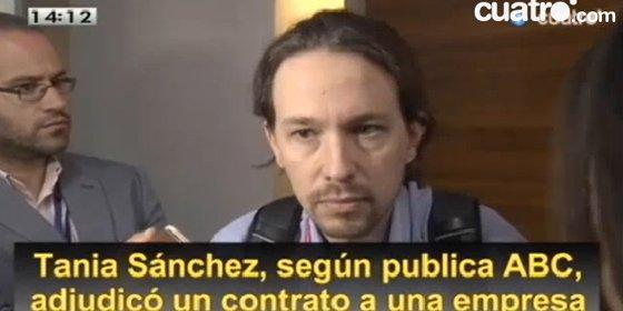 """El desprecio de Pablo Iglesias a una periodista al preguntarle por Tania: """"Es triste que siendo mujer caigas en este machismo"""""""