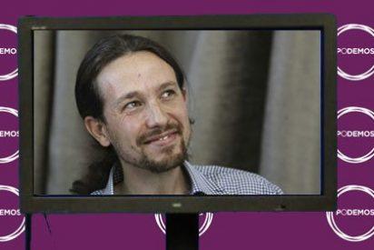 Así se arruga Pablo Iglesias: exigió a Telecinco hacer un 'plasma a lo Rajoy' sin preguntas de los periodistas